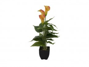 Umělá rostlina Kala (43cm) žlutá
