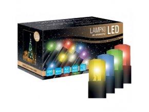 Světelný řetěz LED C10 (10m)  různé barvy