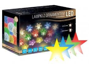 Světelný řetěz LED H10 (10m)  různé barvy