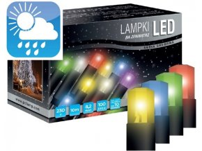Světelný řetěz LED EK10 (10m)  vhodný do exteriéru