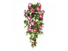 Umělá rostlina Petunie  převis (70cm) - růžová