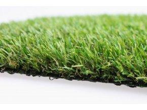 Umělý trávník IRISH MAT 25 (metráž)  cena za 1m2