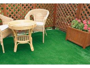 Umělý trávník BASIC, výška 8mm (metráž)  cena za 1bm