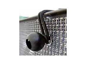 2857 elasticka stahovaci uchytka fissarete na stinici site cerna 10 ks