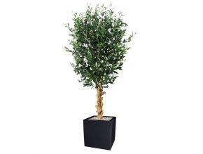 luxe kunst olijfboom 155cm