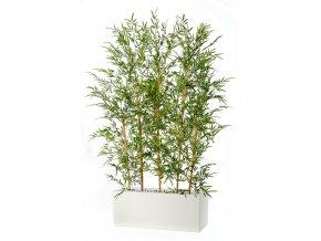Bamboo Fence 200 cm Green V5488002