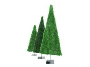 Umělý vánoční stromek plochý (Varianta 180cm)