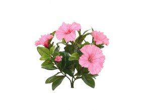 Umělá rostlina Petunie (25cm) - růžová