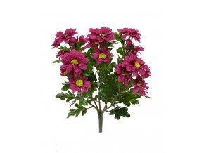 408403bu chrysant boeket 35 burgundy