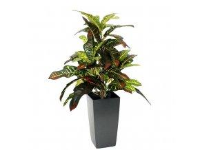 150205 croton kunstplant 50cm in cubico 14cm