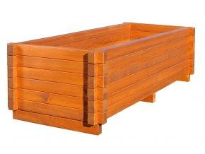 Dřevěný květináč 60x90 120 150 cm Smrk