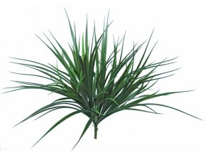 96406 grass bush vanilla 40 cm green 5559grn
