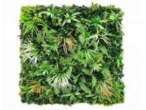 Jungle wit varen 100x100cm mat Kunsthaagvoordeel 1