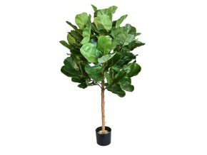 Umělý strom Fikus Lyrata Royal koule na kmeni - (105cm)