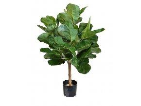 Umělý strom Fikus Lyrata Royal koule na kmeni - (75cm)