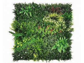 Vegetatie colorful jungle plantenwand