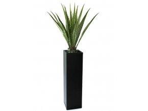 kunst agave deluxe in mod o 95 kunststof plantenzuil