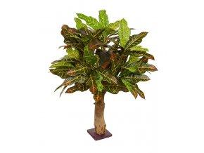 Umělý strom Croton - na kmeni  (65cm)