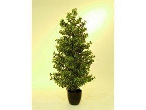 Umělý strom Fikus divoký stříbrný (120cm)