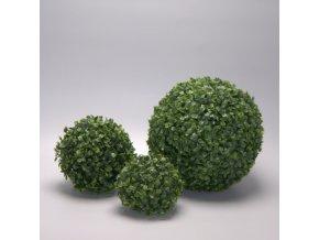 umělá buxusová koule 12-48cmb