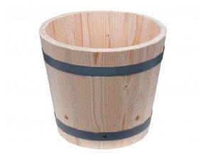 Květináč dřevěný (40cm)  modřín nebo dub