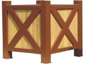 Květináč dřevěný Cross (Varianta 150cm)