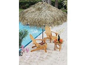 Slunečník z palmových listů (210cm)