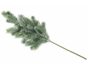 Větvička jedlová (65cm) PE, zasněžená