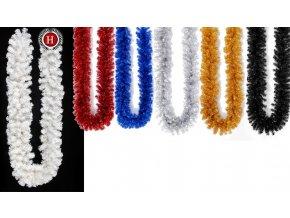 Umělá girlanda barevná (Varianta (300cm) růžová)