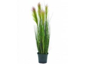 Umělá rostlina Tráva Feather (90cm)
