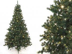 Umělý vánoční stromek XL Atyla LED (Varianta 700cm)