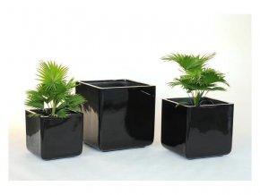 8719 kvetinac sklolaminat alessa 49 5x50 5cm cerna