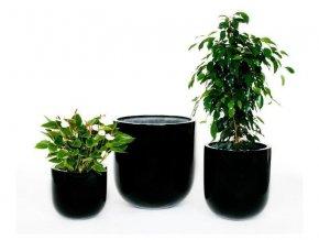 8866 kvetinac sklolaminat adona 40x43 5cm cerna
