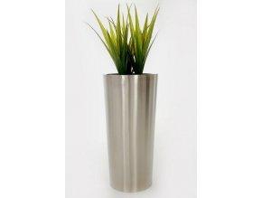 Květináč nerezový Rondo (70cm)