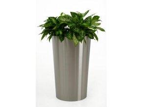 Květináč nerezový Rondo (80cm)
