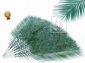 Umělý list palmový, sada 10ks (Varianta (130cm) plast)