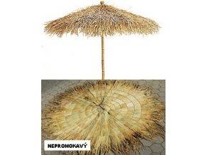 Panel z palmových listů - kulatý (210cm) NEPROMOKAVÝ