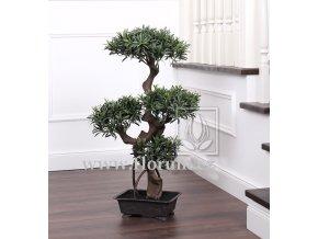 Umělá bonsai Podocarpus (90cm)
