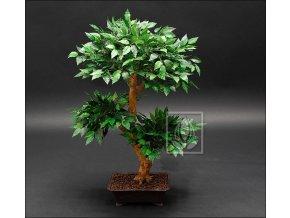 Umělá bonsai Fikus (80cm)