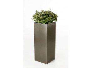 9889 kvetinac sklolaminat berni 100cm antracit leskly