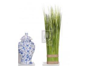 Umělá rostlina tráva Ovál (90cm)