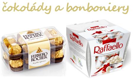 Čokolády a bonboniery