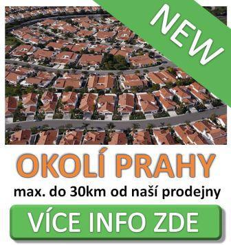Rozvoz květin - okolí Prahy
