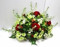Květiny na pohřeb