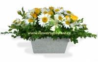 Květinová výzdoba na svatbu