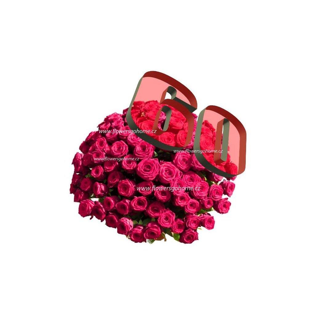 60 růží