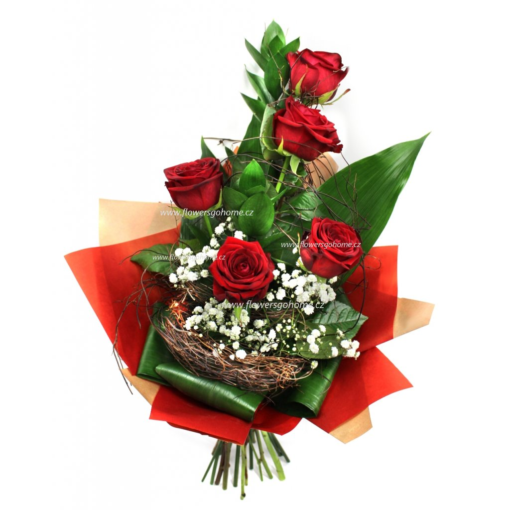 Kytice z růží