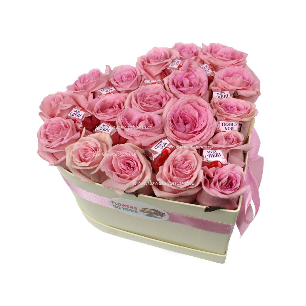 Růže v krabici