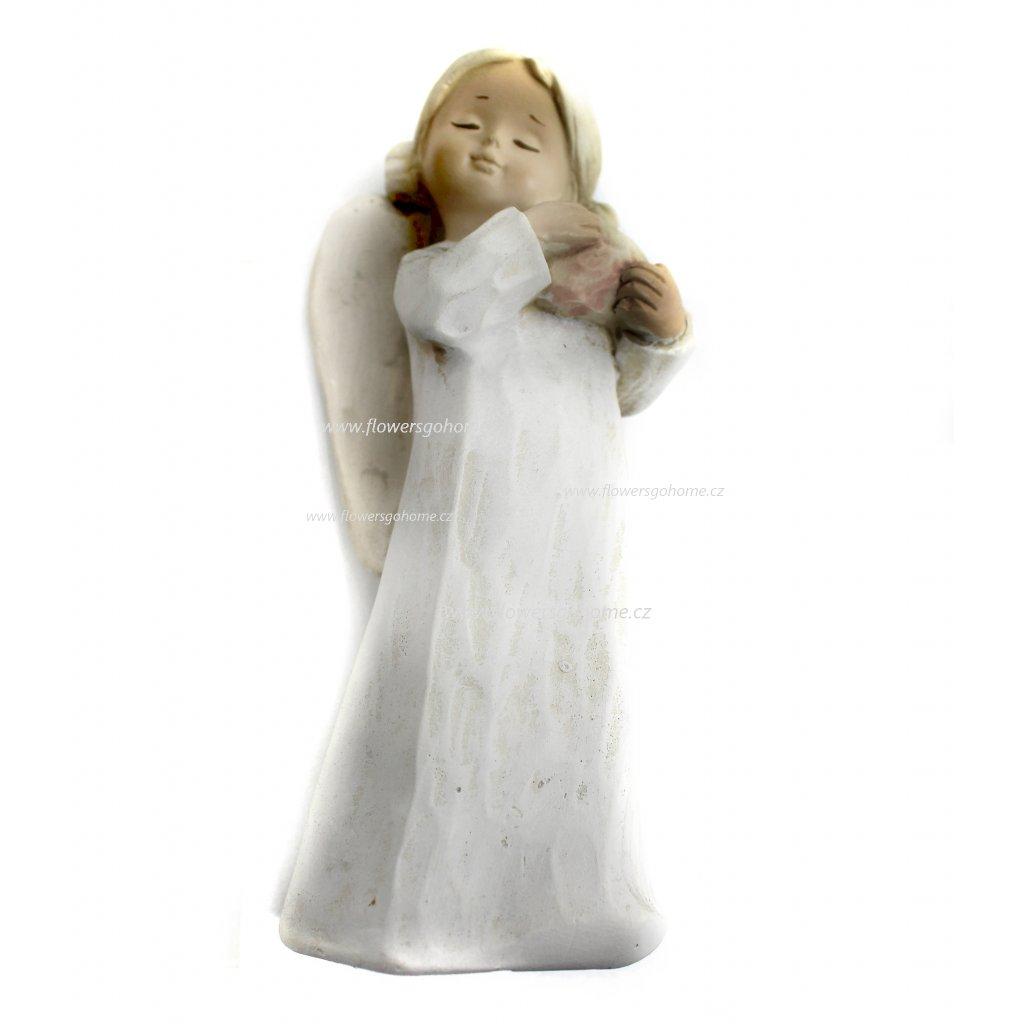 Keramický anděl