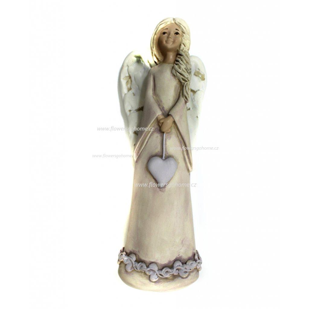 Anděl keramika